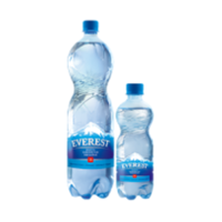 Everest sparkling drinking water