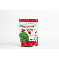 Candied big cranberries, 100g