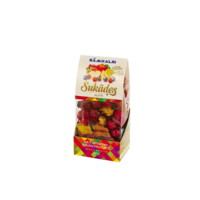 Candied fruits - mix, 150g in plastic bag