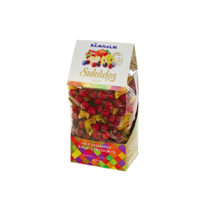 Candied fruits - mix, 500g in plastic bag