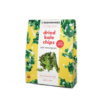 Kale Chips with Lemongrass