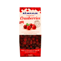 Candied big cranberries, 300g