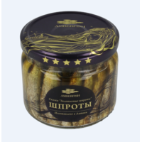 Baltic Sprats in Oil in Glass jars