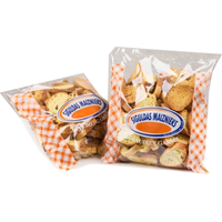 Bread rusks with vanillin