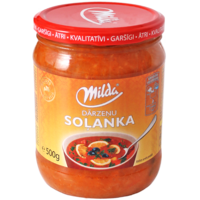 Soup vegetable soljanka